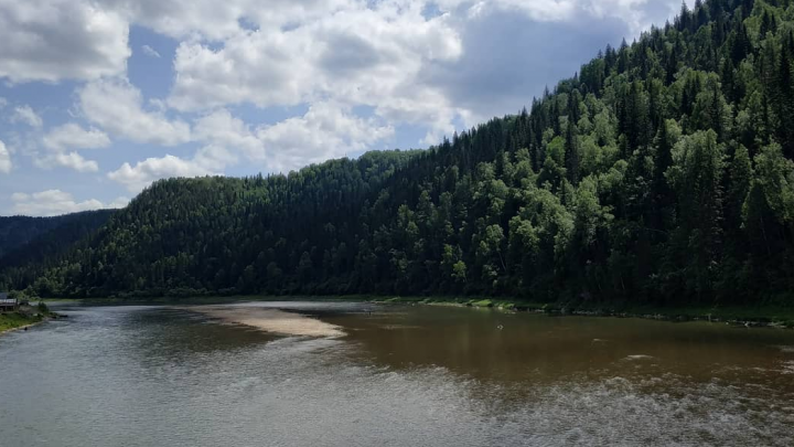 Власти Кузбасса рассказали, почему мутнеют реки региона