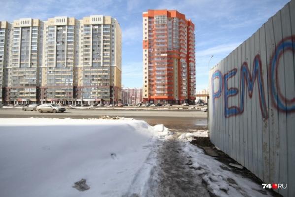 В «Академе» станут красивее пять 9-этажных и пять 17-этажных домов