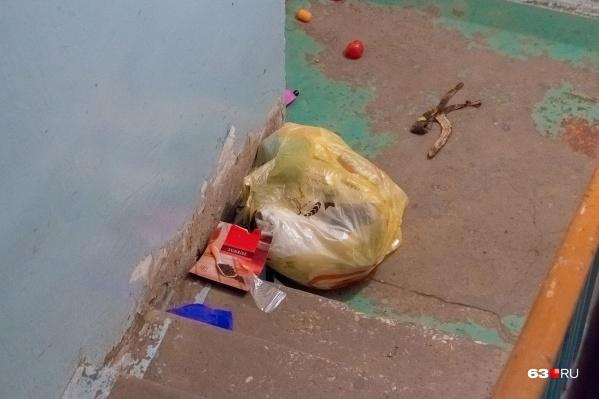 Ежегодно каждый житель дома может накопить 2,35 кубометра мусора