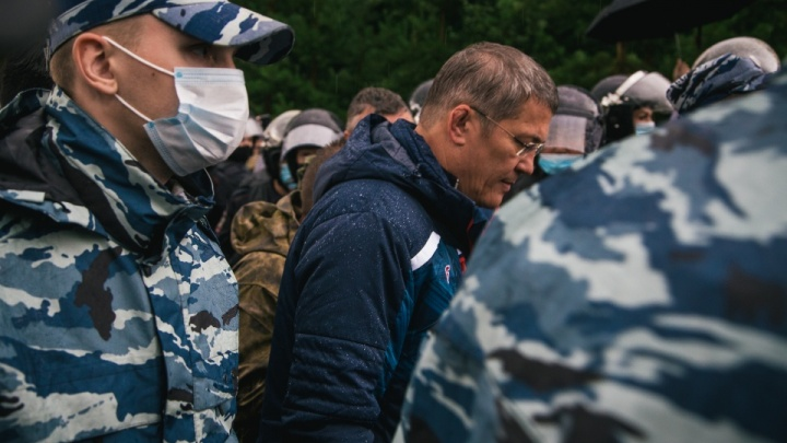 Радий Хабиров заявил о присвоении шихану Куштау статуса памятника природы