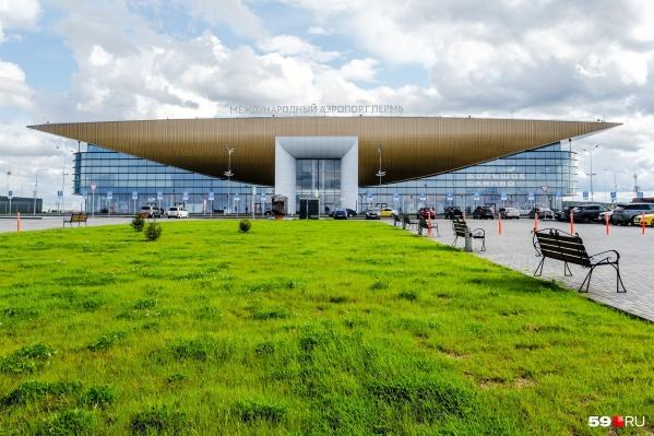 В пермском аэропорту продолжается реконструкция