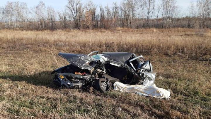 Водитель погиб: стали известны детали лобового ДТП под Самарой