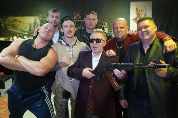 В Екатеринбурге Витя АК провёл два съёмочных дня