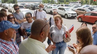 «Ощущение, что на наших глазах отмываются деньги»: обманутые дольщики Волгограда готовы объявить голодовку