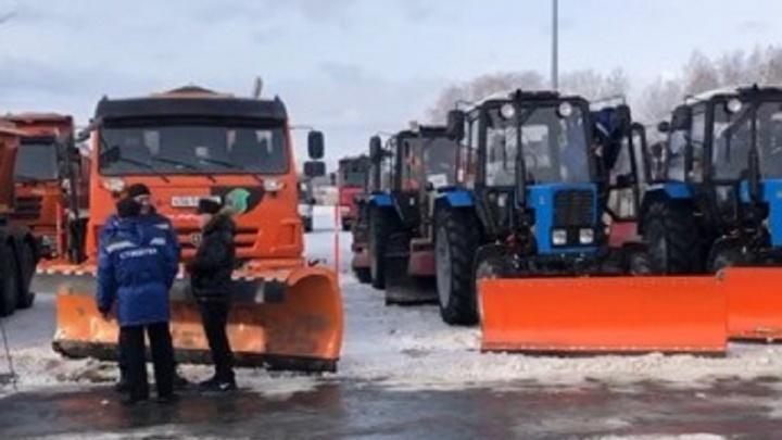 Подрядчик Центрального и Советского районов Челябинска рассказал, как и на чём будет убирать дороги