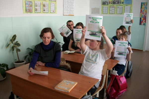 В школе дети обучаются с1-го по 9-й класс