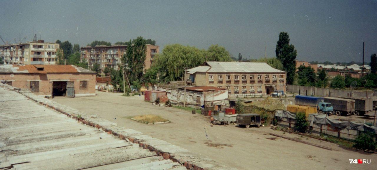 Территория базы до событий 2 июля 2000 года