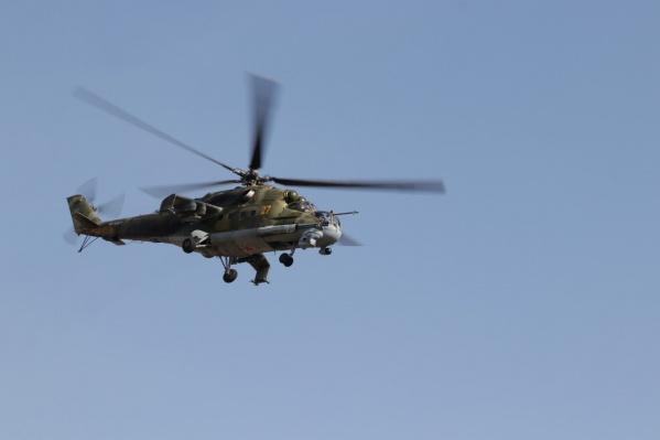 Кроме кузбассовцев, военные вертолёты в небе могли заметить жители Новосибирской области и Алтайского края