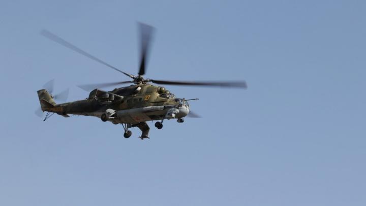 Над Кузбассом летали боевые вертолёты. Рассказываем почему