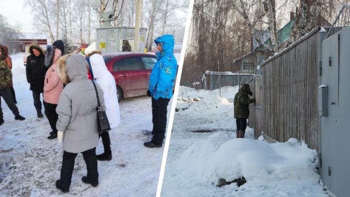 Два десятка домов в Дзержинском районе из-за отключения света остались без тепла в мороз