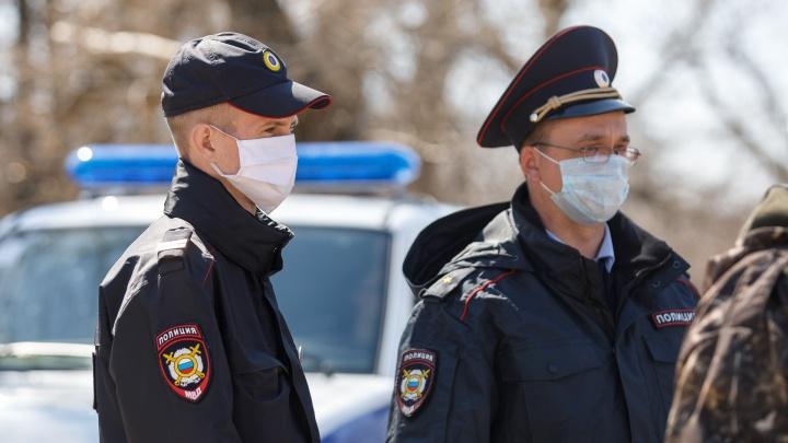 В Волгограде и области вновь начаты облавы на незаконно гуляющих горожан