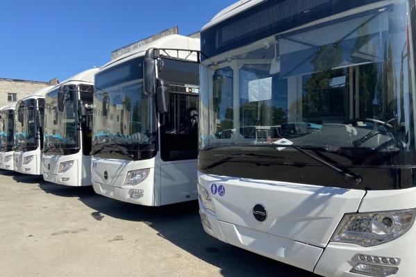 Так выглядят новые автобусы. которые используют перевозчики, приступившие к работе с 1 июня