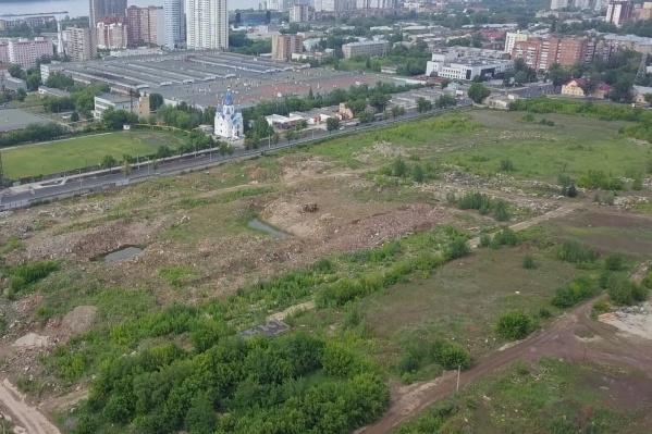 Вот здесь могут вырасти жилые небоскребы