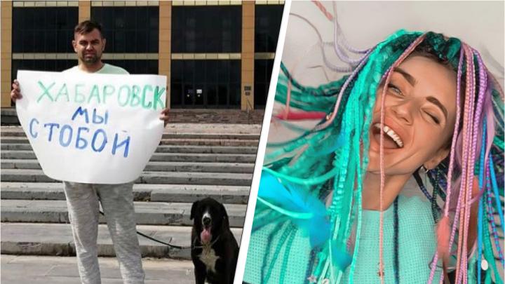 Задержанный во время пикета в поддержку хабаровчан Денис Гауэрт отказался от свиданий в изоляторе