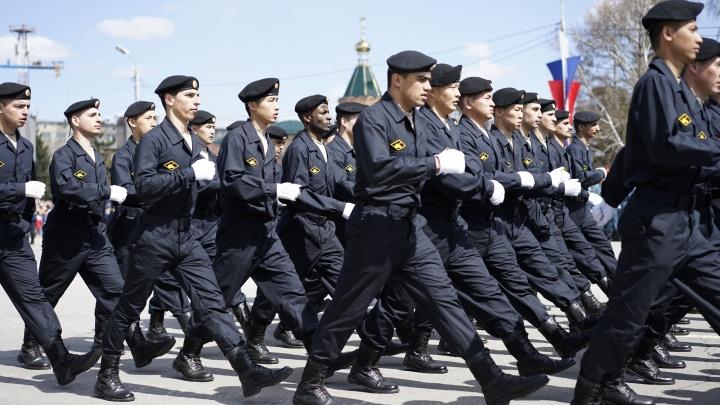 Репетиция парада Победы: показываем марш военных в прямом эфире