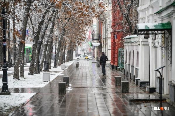 По прогнозам синоптиков, этот снег у нас надолго не задержится