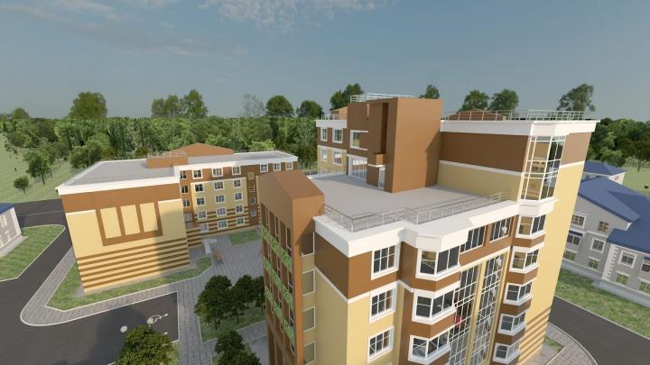 Застройщик из Кузбасса строит на Народной уникальный дом: всего 100 квартир и эркерное остекление