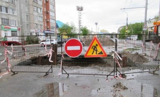В Кургане продлили сроки перекрытия дорог