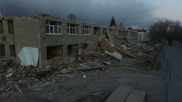 Как создатели «Гринвича» крушат завод в Екатеринбурге ради жилого комплекса: видео с высоты