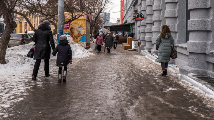 На город идёт волна холода, метели и порывистого ветра: в Новосибирск возвращаются холода