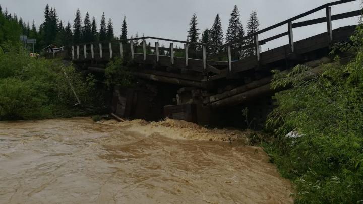 Еще один разрушенный мост: для объезда нужно проехать 600 километров
