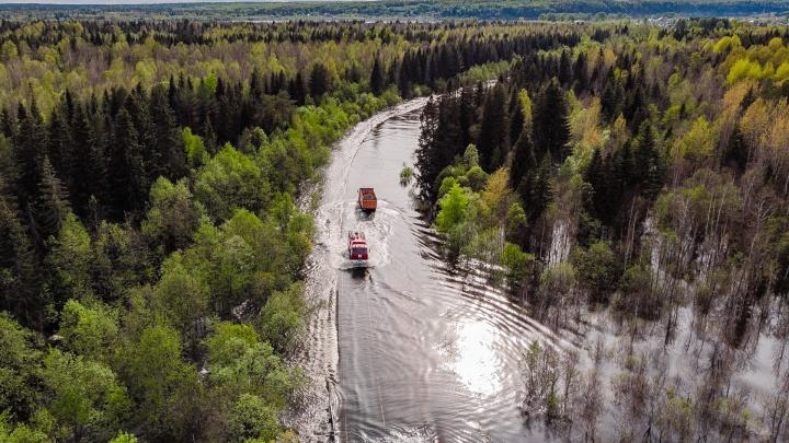 В Прикамье на ремонт разрушенных половодьем дорог выделят 50 миллионов рублей