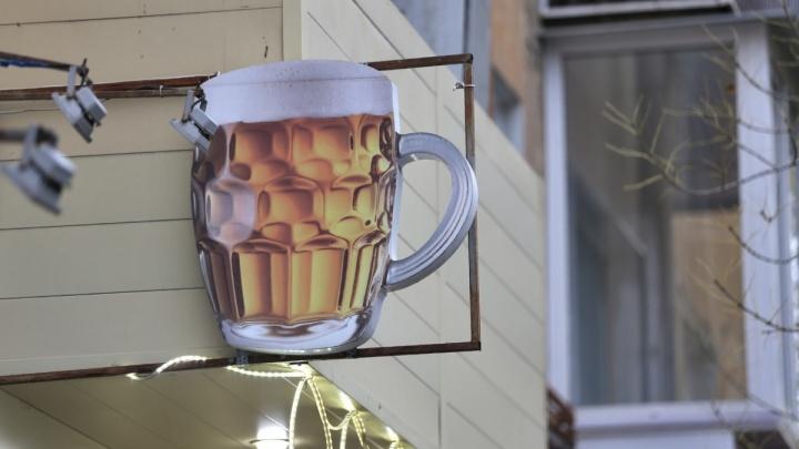 Море пива подсохло: в Челябинске за год закрылось 22% «разливаек»