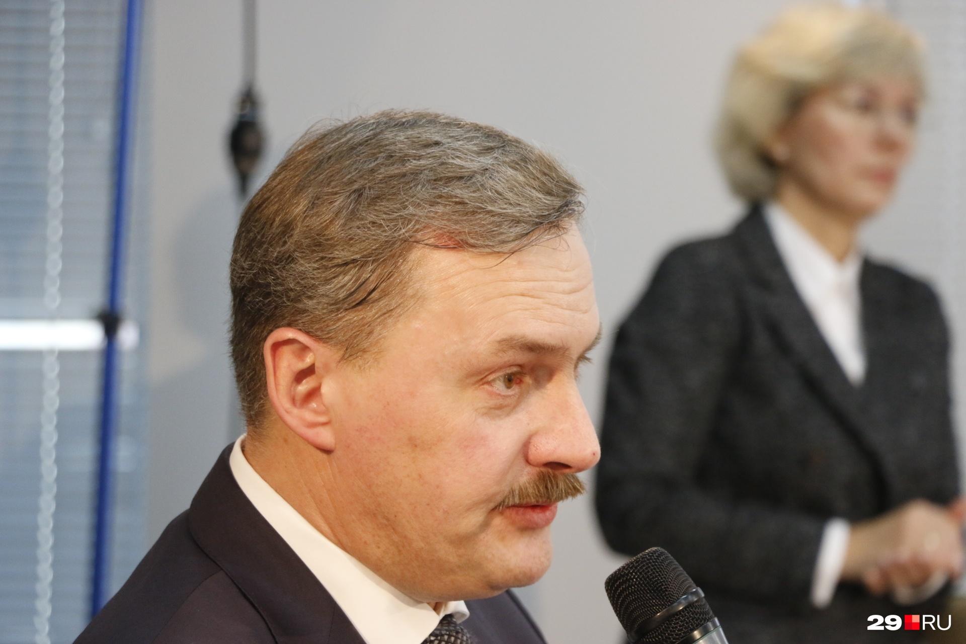 Игорь Годзиш руководил Архангельском с 2015 по 2020 год