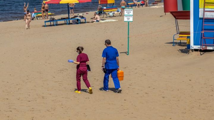 «Воды было по щиколотку»: на пляже у Ладьи в Самаре утонула женщина