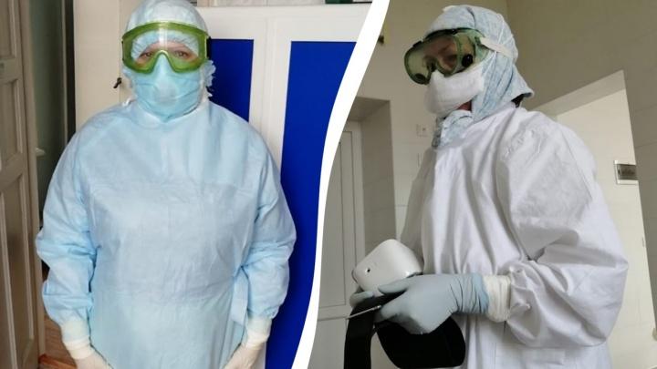 «Это не наволочка, это заводская косынка»: сотрудники больницы № 16 Волгограда пошли в защиту главного врача
