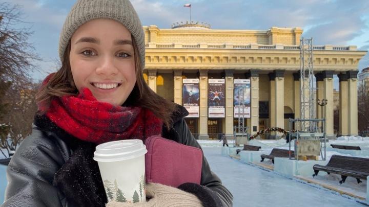 Тест-драйв самого скандального катка Новосибирска: прямой эфир с площади у оперного театра