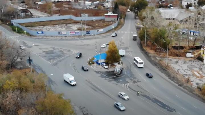 Вместо поста ДПС: самарец показал с высоты место, где обустроят кольцевую развязку в Зубчаниновке