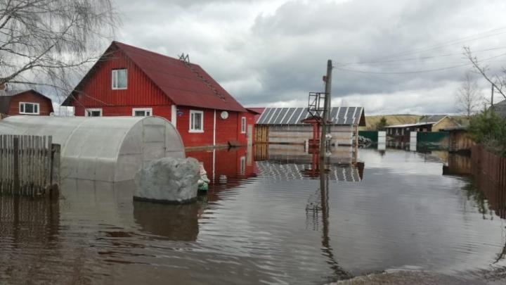 В Вельском районе восстановят поврежденные весенним паводком переправы на деньги из резервного фонда
