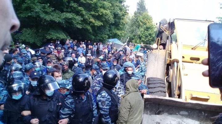 «Я слышу крики и стоны активистов»: корреспондент UFA1.RU — с протестов в защиту Куштау