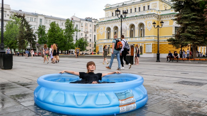Жара в Нижнем Новгороде побила рекорд 2010 года
