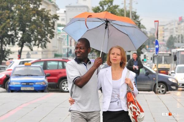 Всю неделю в Екатеринбурге будет тепло, но пасмурно