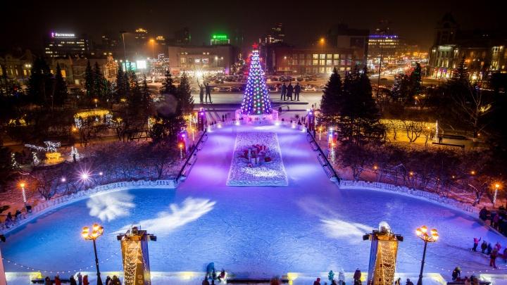 Будут ли разгонять людей с площади Ленина в новогоднюю ночь? Отвечает мэрия