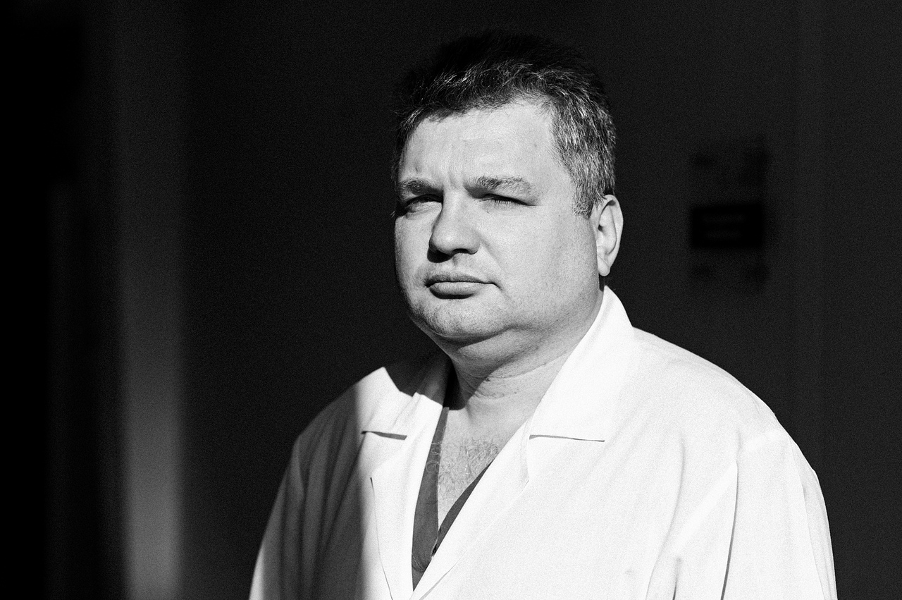И. о. заведующего отделением детской ортопедии Александр Васюра