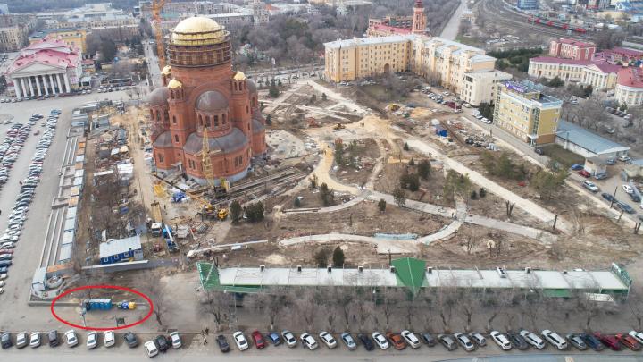 В Волгограде снесут исторические туалеты рядом с площадью Павших Борцов