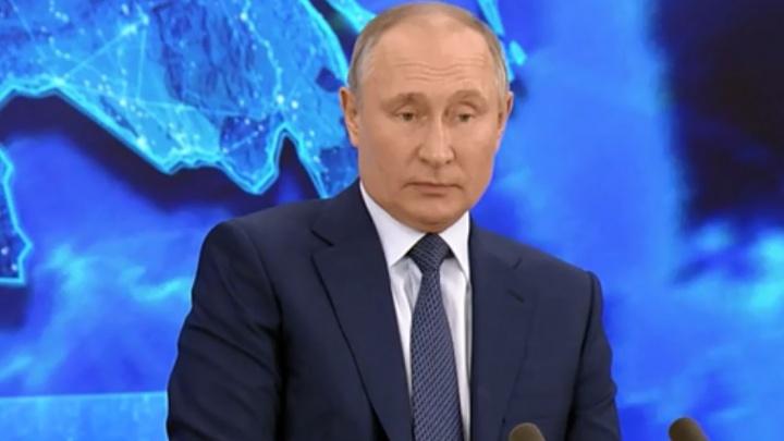 Жительница Башкирии обратилась к Путину во время прямой линии