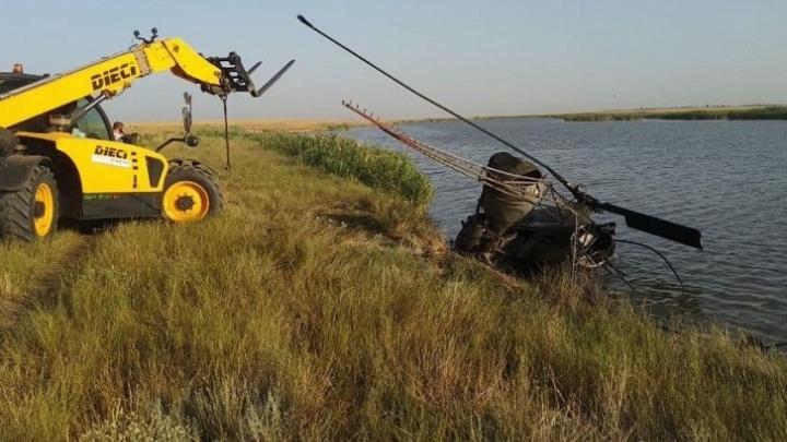 В донском Минздраве рассказали о состоянии пилота вертолета, разбившегося под Ростовом