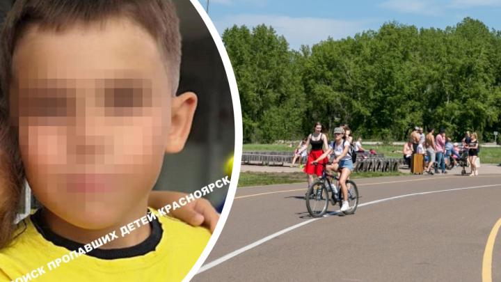 10-летний мальчик пропал в Красноярске второй раз за месяц