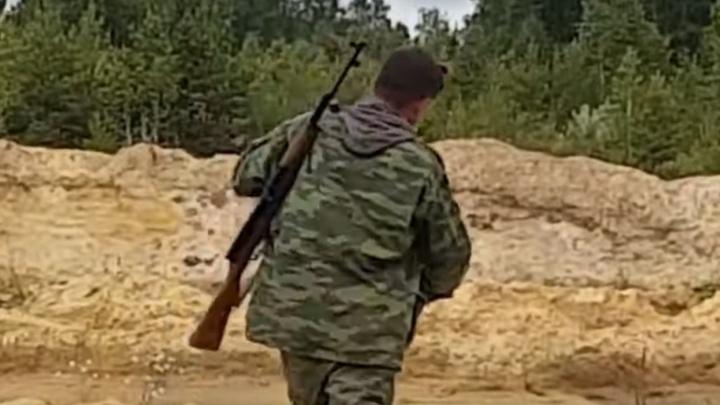 В Росгвардии проверили законность ружья, из которого застрелили хаски на карьере под Челябинском