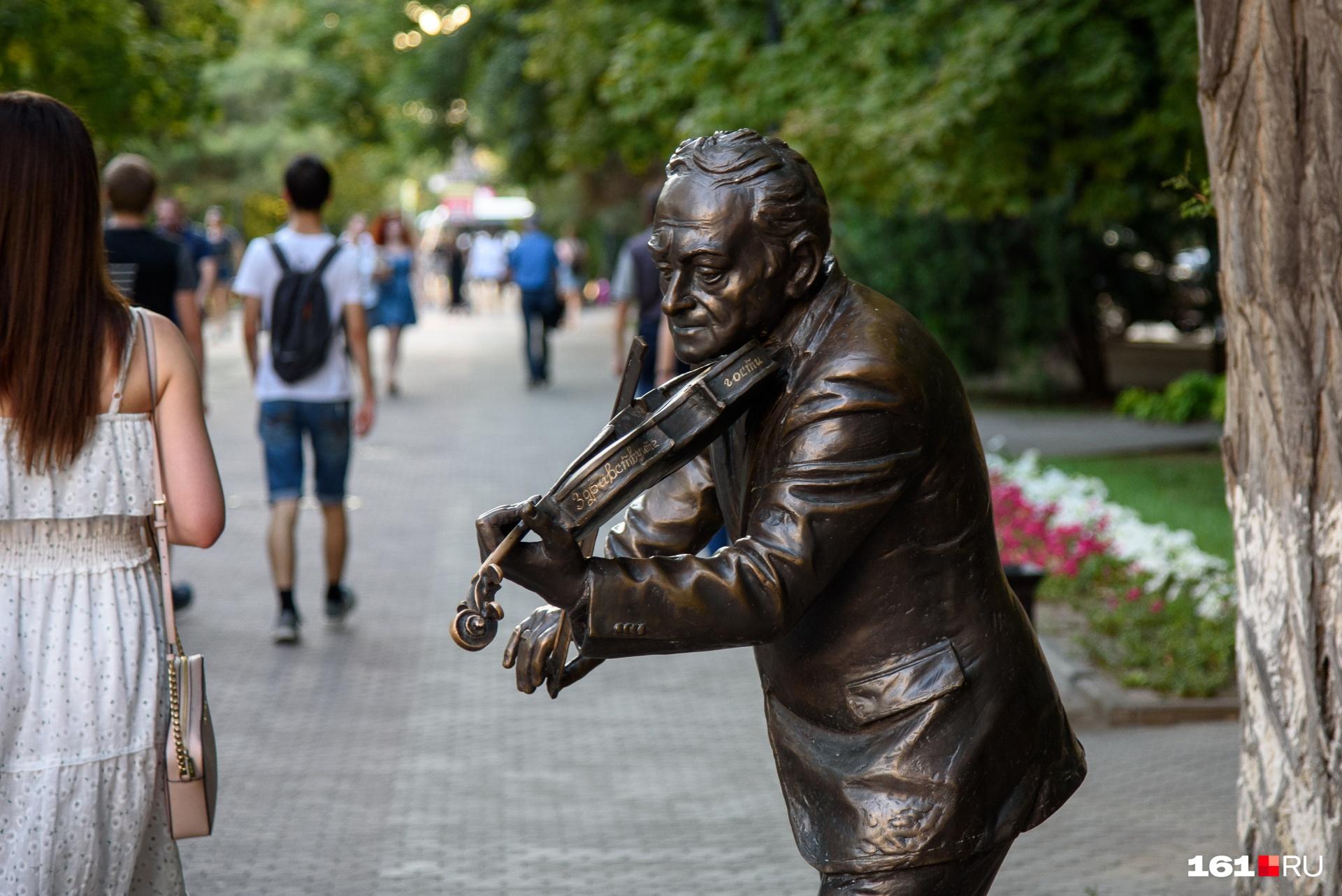 Музыка на Пушкинской остается всегда. Даже в тишине