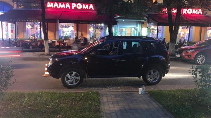 В центре Кемерово сбили ребёнка