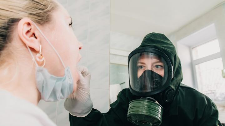 Число зараженных коронавирусом в Самарской области превысило 11 тысяч человек
