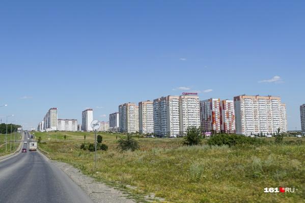 К Суворовскому из центра ведет пока одна дорога