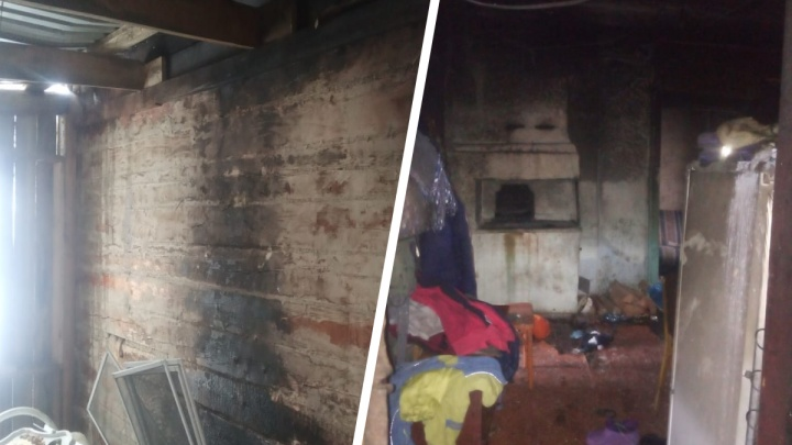 Двухлетняя девочка погибла от ожогов после пожара в доме