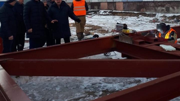 На место разлома поставят панель: в Ярославле укрепят взорвавшийся на Батова дом