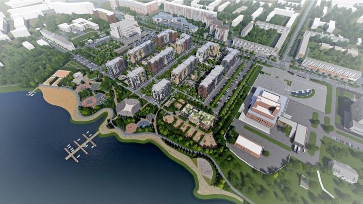 Проект застройки на берегу озера Театральное в Северодвинске получил еще одну архитектурную награду